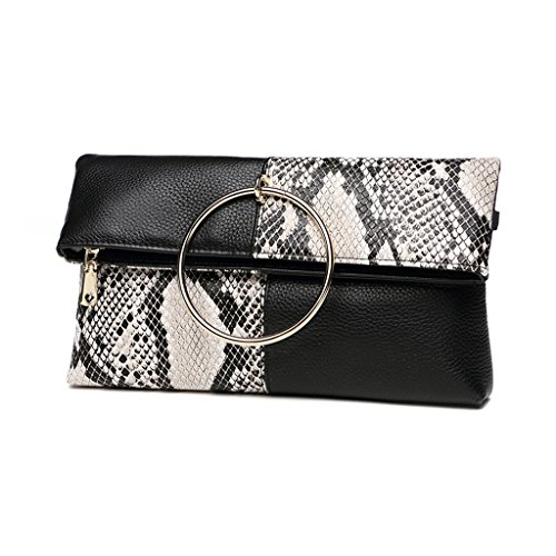 Taomi Homw Clutch Femminile Buste Pieghevoli Borse Femminili Moda Messenger Bag / Con Tracolla, Cinturino Da Polso # C