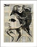 1art1 87926 Loui Jover - Etheral Poster Kunstdruck 50 x 40 cm