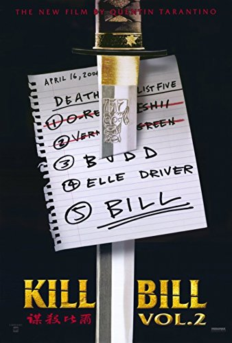 Kill Bill Vol 2 Movie Poster (68,58 x 101,60 cm)