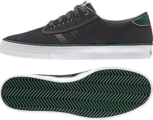 adidas  Kiel,  Scarpe da skateboard uomo - Dark Grey and Green 6.5 UK