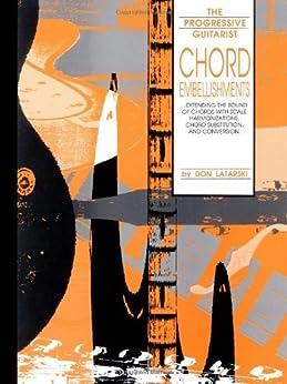 Chord Embellishments par [Latarski, Don]