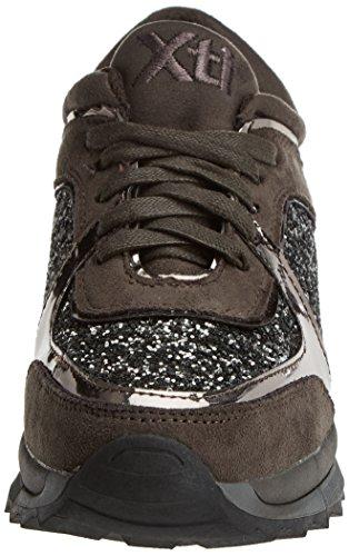 XTI 047415, Sneaker Basse Donna Grigio (Grigio)