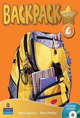 Backpack Gold 6 SBk & CD ROM N/E Pk por Diane Pinkley
