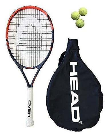 Junior Chef Radical 26 Raquette De Tennis Andy Murray + 3 Balles De Tennis
