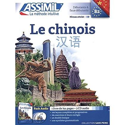 Le Chinois Pack Audio (1 livre de 744 pages + 3 CD audio)