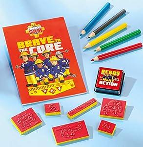 Totum 340060 - Kit Creativo de Sellos de Bombero