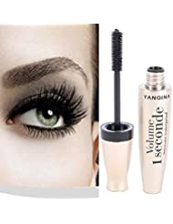 ROPALIA 3D Fiber Mascara Long Black Lash Eyelash Extension Waterproof Eye Makeup
