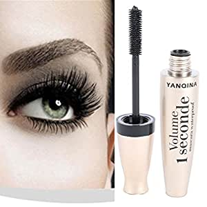 BOBORA Beauté Maquillage Long et épais Mascara Imperméable à l'élastique Rouleau Extension Warped Cils Mascara