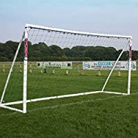 Samba 12ft x 6ft Multi-Goal With Locking Parts - Goal Posts complete with Football Net, Carry Bag, Net Clips and Ground Anchors.