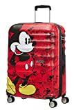American Tourister - Disney Wavebreaker - Spinner , 67 cm, 64 L, Mickey Comics Red