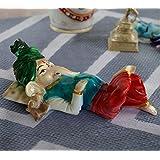 [Sponsored]TiedRibbons® Ganesha Idol (Multicolor, Resin)
