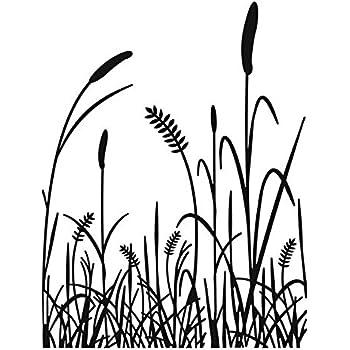 Darice Grass Embossing Template, Transparent, 10.8 x 14.6 cm: Amazon ...