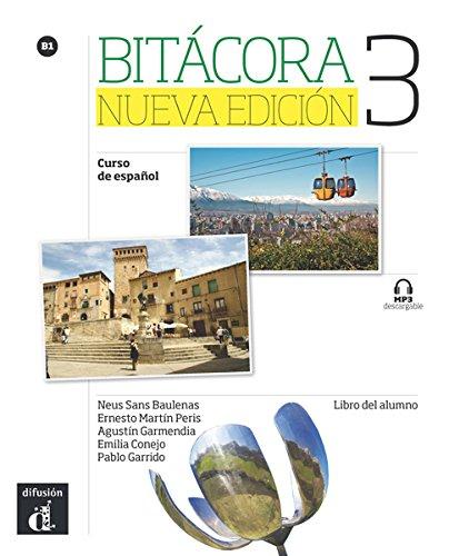 Portada del libro Bitácora 3 Nueva edición Libro del alumno