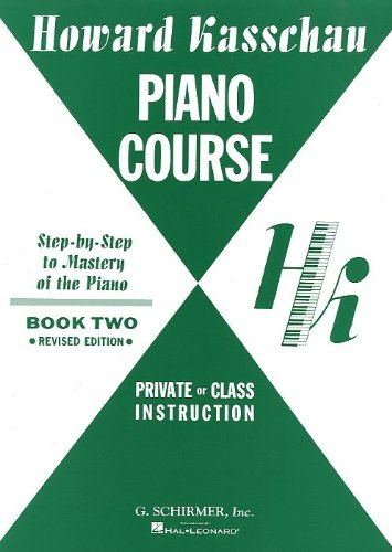 Howard Kasschau Piano Course Book 2 Partitions Pdf Kindle Nwigmund