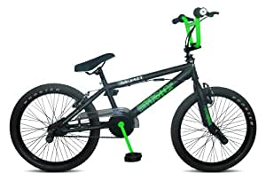 Rooster Go Easy 2011 Boy's BMX Bike - Black/Green, 20 Inch