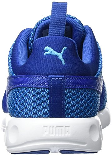 Scarpe Da Corsa In Pelle Di Pitone Uomo Puma, 44 Eu Blu (blu Danubio-blu Vero 02)