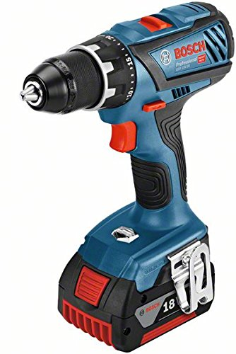 Bosch Professional perceuse-visseuse sans-fil GSR 18V-28 (2 batteries 5,0 Ah, 18 V, ∅ de vissage maxi : 8 mm, L-BOXX)