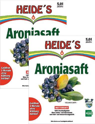 BOMSaft Aronia Muttersaft - Doppelpack -, 2 x 5 Liter