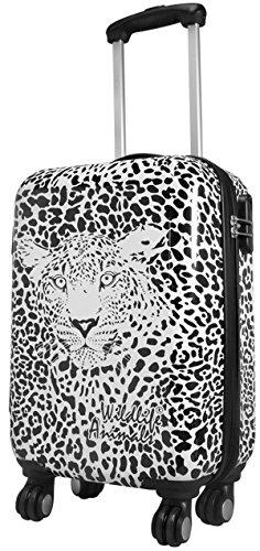 Wildlife Léopard Taille XL Carbon/rigide Valise à roulettes en polycarbonate Case FA. Valise bowatex