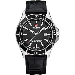 Swiss Military Hanowa Men's Quartz Watch Hanowa 06-4161.7.04.007 with Leather Strap