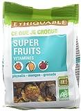Ethiquable Super Fruits Vitaminés Bio et Equitable 65 g Producteurs Paysans - Lot de 3