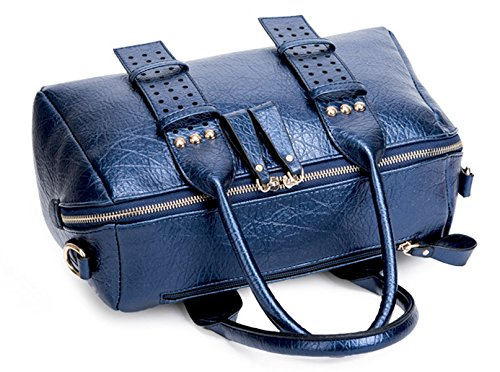 Keshi Pu Cool Damen Handtaschen, Hobo-Bags, Schultertaschen, Beutel, Beuteltaschen, Trend-Bags, Velours, Veloursleder, Wildleder, Tasche Schwarz