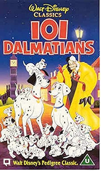 101 Dalmatians 1961 Vhs Rod Taylor Betty Lou Gerson Cate Bauer Rod Taylor Betty Lou Gerson Amazon Co Uk Video