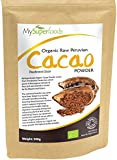 Raw Organic Cacao Powder (500g) | Highest Quality Available | Certified Organic by the Soil Association | By MySuperfoods