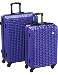 Wagner Luggage Casino Valises 4 roulettes (lot de 2)