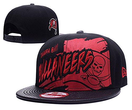 black-the-league-heather-adjustable-cap-buccaneers-adjustable-hat