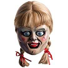 Rubie's Masque avec cheveux pour adulte officiel Annabelle film «The Conjuring» Taille unique
