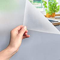 Yaheetech 60x300cm Window Film Self-Adhesive Frosted Glass Film Opaque Privacy Film Anti-UV Static Film for Office Bathroom Living Room