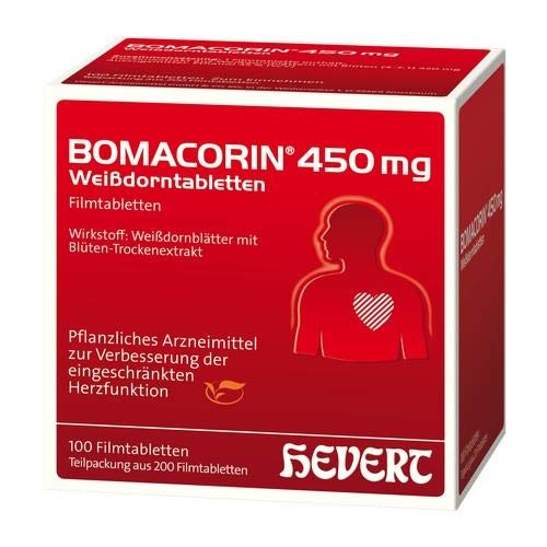 BOMACORIN 450 mg Weißdorntabl. N Filmtablet 200 St
