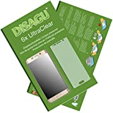 6x Ultra Clear Screen Protector for Samsung Galaxy S6 edge+ / Galaxy S6 edge plus (intentionally smaller than the display due to its curved surface)