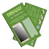 Samsung Galaxy S6 edge+/Galaxy S6 edge plus Displayschutzfolie - 6x Ultra Clear Schutzfolie für Samsung Galaxy S6 edge+/Galaxy S6 edge plus (bewusst kleiner als das Display, da dieses gewölbt ist)