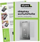 dipos I 2X Schutzfolie matt passend für Bauknecht KGN 2043 A3+ IN Folie Displayschutzfolie