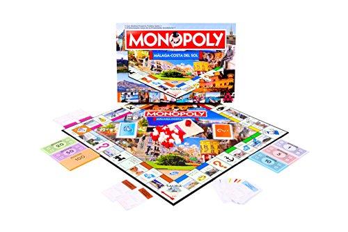 Monopoly Malaga Costa Del Sol segunda mano  Se entrega en toda España
