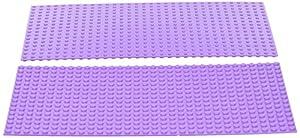 Katara- Set de 2 Placas de construcción, Color 2 x Violeta (1672-099)
