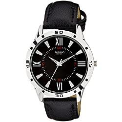 Fabiano New York Royal Black Analog Mens & Boys Wrist Watch