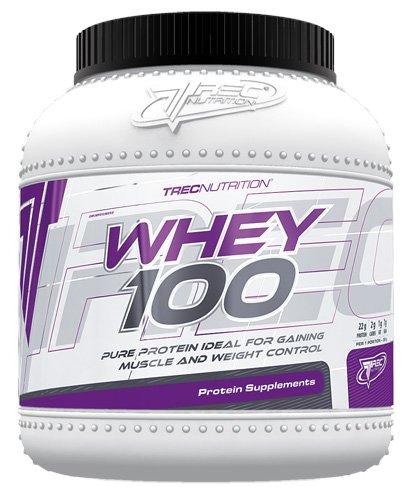 Trec Nutrition Whey 100 Protein Eiweiß Molkenprotein Supplement Eiweißshake Proteinshake Bodybuilding (1500g Chocolate Coconut - Schokolade Kokosnuss)