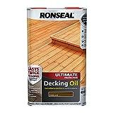 Ronseal RSLUDODO5L - 5L Última Protección Decking Petróleo - Roble Oscuro