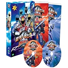 POWER RANGERS ENGINE FORCE 2 (2 DISC) (Region code : 3) (Korea Edition)