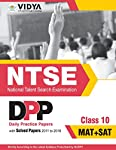 NTSE MAT+SAT Daily Practice Papers & Solved Paper Class 10