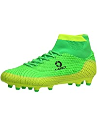 sports shoes a8be4 d2d4a ALEADER Unisex Men Boy s Football Boots Soccer Training Shoes