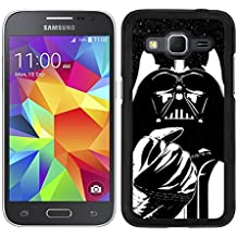 FUNDA CARCASA PARA SAMSUNG GALAXY CORE PRIME DARTH VADER 5 BORDE NEGRO - D4