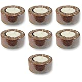 TYYC Home Decorative Candle Holders Diwali Gift Items Metallic Tea Light Holder Gift Pack Combo Of 7 T-light Holders