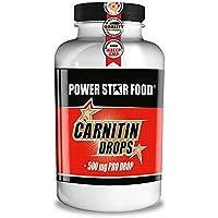Preisvergleich für L-CARNITIN DROPS - HOCHDOSIERT - Fatburner / Fettverbrenner + Vitamin B6 zur Beschleunigung deiner DIÄT & DEFINITIONSPHASE...