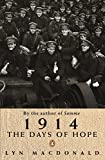 1914: The Days Of Hope (ISBN Group) (English Edition)