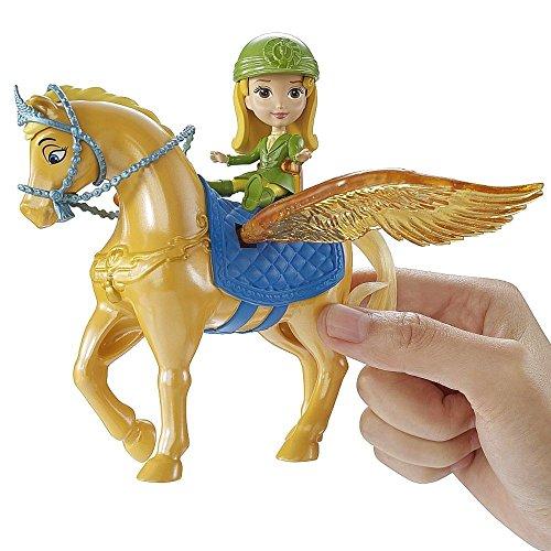 Disney Princess - Sofia die Erste - Set Puppe Amber & Fliegendes Pferd Safran