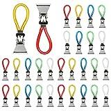 TANCUDER - 30 clip in metallo per appendere asciugamani, asciugamani, asciugamani, asciugamani, asciugamani, asciugamani, asciugamani, asciugamani, clip per asciugamani (colorati)